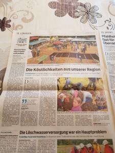Bericht Erntedank